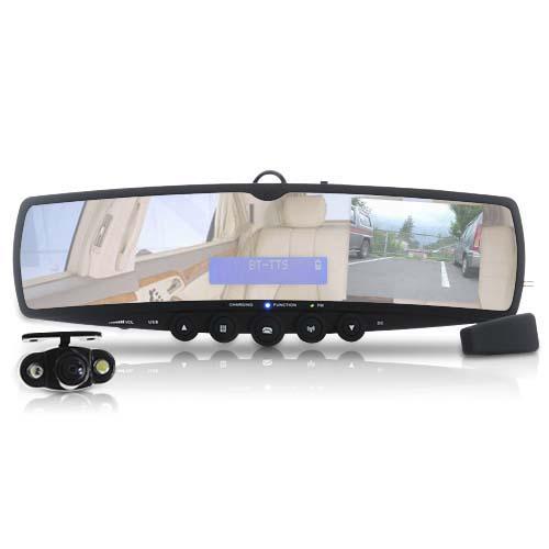 Огледало с Bluetooth и камера