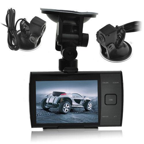 Авторегистратор с две изнесени камери, модел S3000A