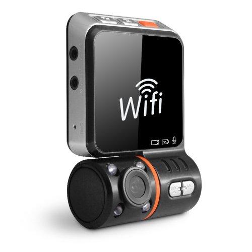 Авторегистратор с Wi-Fi връзка към телефон, модел F9D