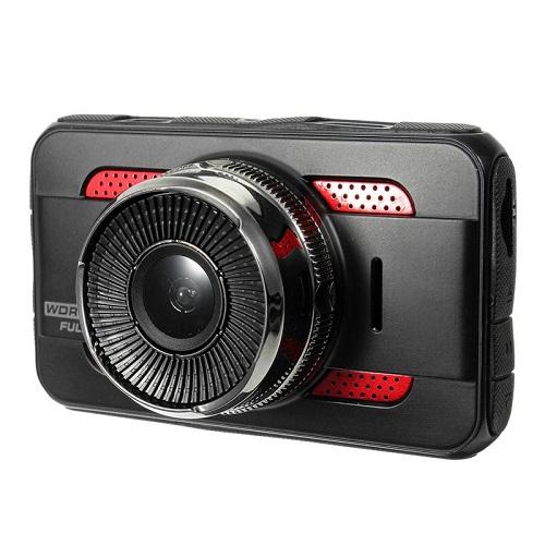 Авторегистратор с втора изнесена камера, FULL HD, Модел K107