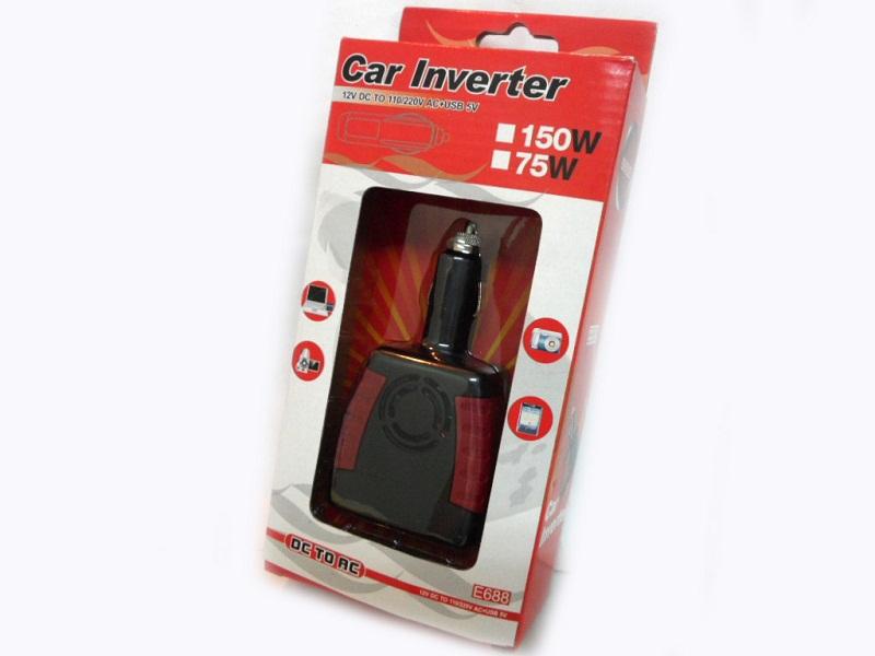 Инвертор на ток, до 150W, модел E688