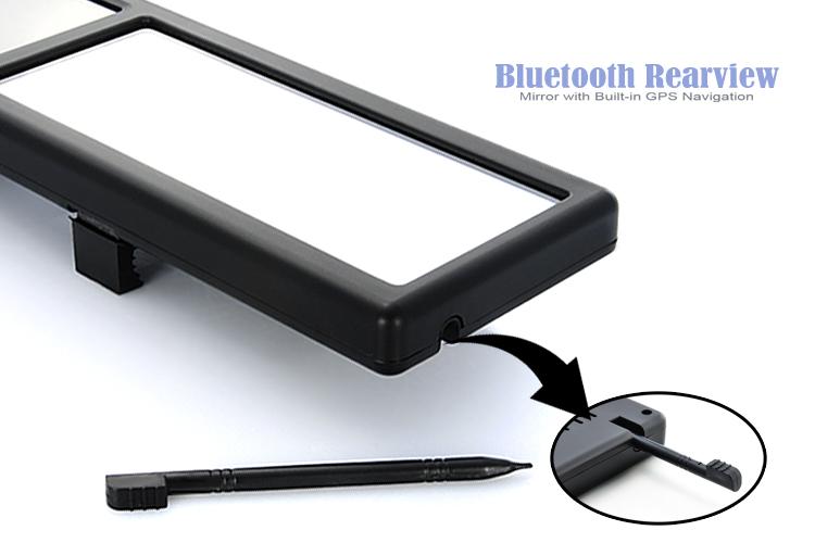 """Огледало с 4.3"""" LCD, навигация"""